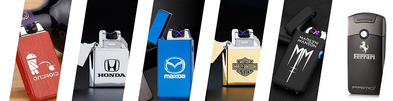 Vyber si zo širokej ponuky zapalovačov s logom