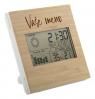 Meteorologická stanica a digitálne hodiny s vlastným dizajnom