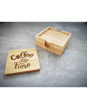 Sada podtácnikov = coffe time