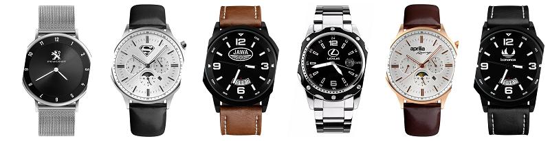 Vyber si zo širokej ponuky hodiniek s logom