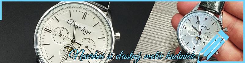Navrhni si vlastný motív hodiniek